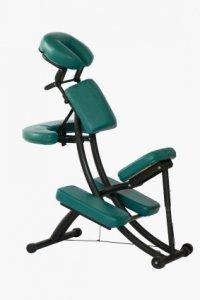 Massagestuhl für Rückenmassagen im Büro