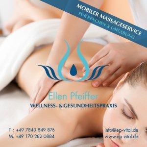 Titelbild für Facebook mit Logo, mobiler Massageservice für Renchen und Umgebung